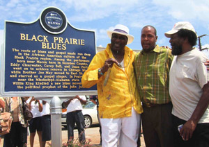 Mississippi Blues Marker: Clearwater - King - Bell