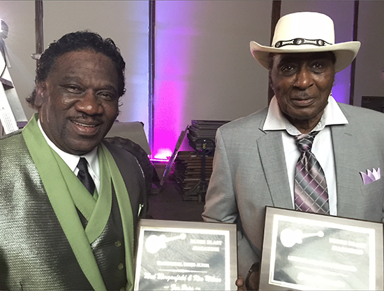 Mud Morganfield and Eddy Clearwater